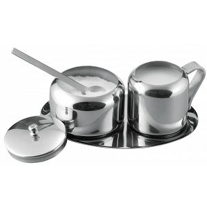 Cuisinox Sugar Bowl and Creamer Set