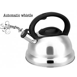 Cuisinox Satin Stainless Steel Whistling Kettle