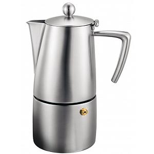 Cuisinox Milano 10-Cup Satin Stovetop Coffee Maker