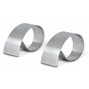 Cuisinox Stainless Steel Napkin Rings Set of 2