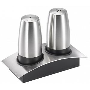 Cuisinox Salt & Pepper Shaker Set with Caddy