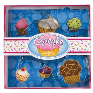 Fox Run Cupcake Cookie Cutter Set