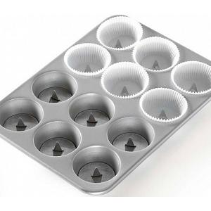 Nordic Ware Set of 12 Hidden Surprise Cupcake Posts