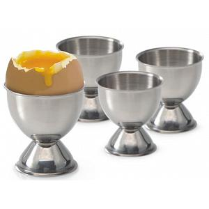 Danesco Stainless Steel Egg Cup Set of 4