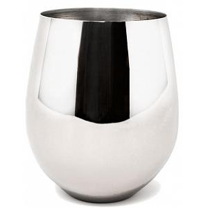 Danesco Stainless Steel Stemless Wine Goblet / Glass