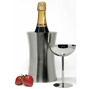Danesco Double Walled Stainless Steel Wine Cooler