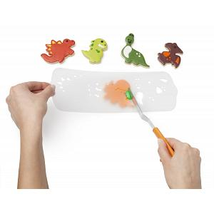 Chef'n Dinosaur Cookie Cutter & Stencil Set