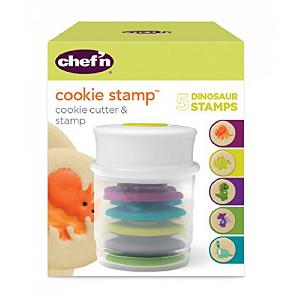 Chef'n Dinosaur Cookie Stamp and Cutter Set