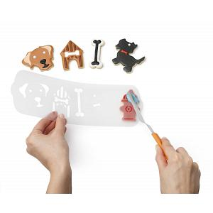 Chef'n Dog Cookie Cutter & Stencil Set