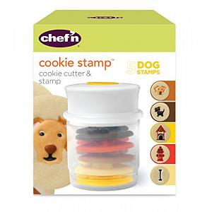 Chef'n Dog Cookie Stamp and Cutter Set
