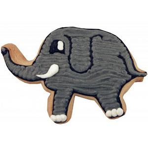 "Fox Run 3"" Elephant Cookie Cutter"