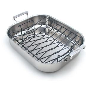 Elite Roasting Pan with Rack 17""