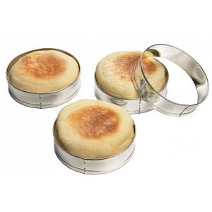Fox Run Set of 4 English Muffin Rings