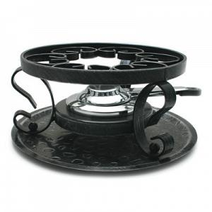 Swissmar Wrought Iron Fondue Rechaud / Stand with Burner