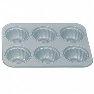 Fox Run Fluted 6-Cup Muffin Pan