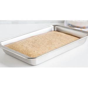 Fox Run Stainless Steel All Purpose Baking Pan 11 x 7 Inch