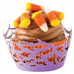 Fox Run Halloween Bats Cupcake Wrap Set of 12