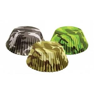 Fox Run Camouflage Baking Cup Set of 75