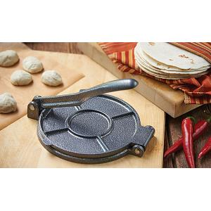"Fox Run Cast Iron 7.5"" Tortilla Press"