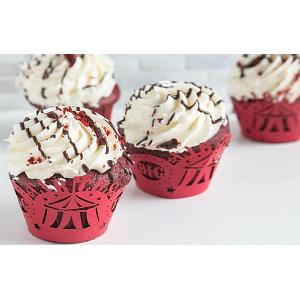 Fox Run Circus Cupcake Wrap Set of 12