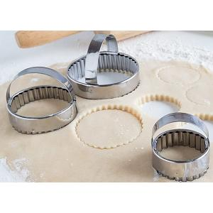 Fox Run Crinkled Cookie Cutter Set