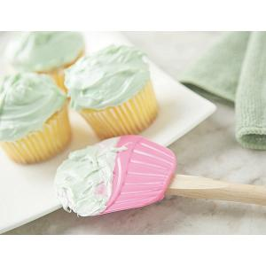 Fox Run Small Pink Cupcake Spatula