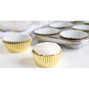 Fox Run Gold Foil Baking Cup Set of 32