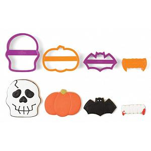 Fox Run Skull Halloween Cookie Cutter Set