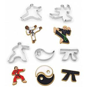Fox Run Karate Cookie Cutter Set
