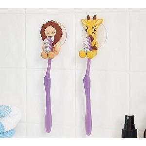 Fox Run Lion & Giraffe Toothbrush Holders