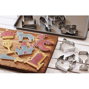 Fox Run Medieval Cookie Cutter Set