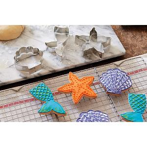 Fox Run Mermaid Cookie Cutter Set