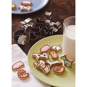 Fox Run Mini Animal Cookie Cutter Set
