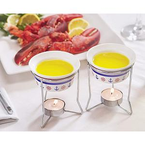 Fox Run Nautical Butter Warmer Set of 2