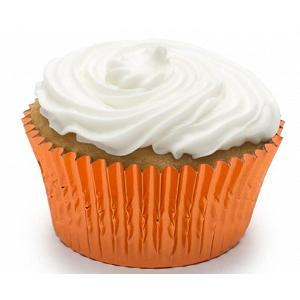 Fox Run Orange Foil Baking Cup Set of 32
