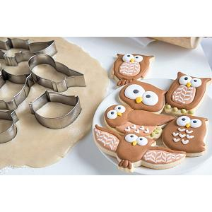 Fox Run Owl Cookie Cutter Set