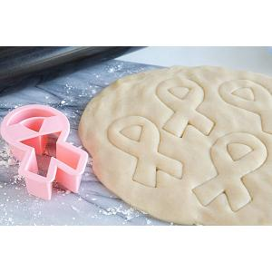 Fox Run Pink Ribbon Cookie Cutter