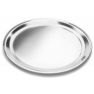 Fox Run Stainless Steel Pizza Pan 16 Inch