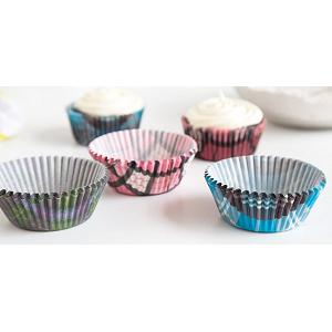 Fox Run Plaid Baking Cup Set of 75