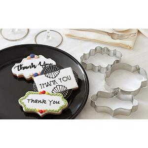 Fox Run Plaque Cookie Cutter Set