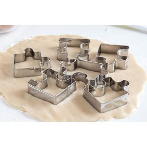 Fox Run Puzzle Pieces Cookie Cutter Set