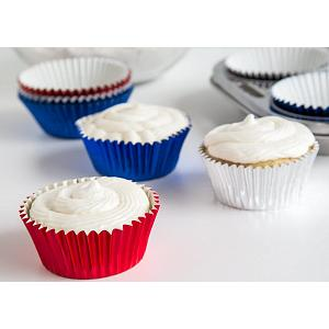 Fox Run Patriot Foil Baking Cup Set of 45