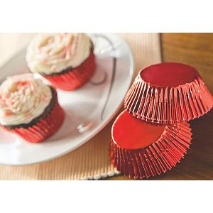 Fox Run Red Foil Baking Cup Set of 32