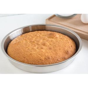 Fox Run Stainless Steel Round Cake Pan 9 Inch