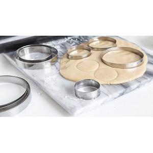 Fox Run Round Cookie Cutter Set
