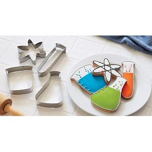 Fox Run Science Cookie Cutter Set