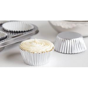Fox Run Silver Foil Baking Cup Set of 32