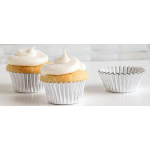 Fox Run Silver Foil Mini Baking Cup Set of 48