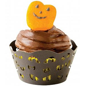 Fox Run Halloween Spooky Eyes Cupcake Wrap Set of 12