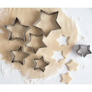Fox Run Star Cookie Cutter Set